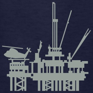 Navy offshore oil rig (1c) Kids' Shirts - Kids' T-Shirt