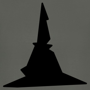 Asphalt witches hat witch wizard T-Shirts - Men's T-Shirt by American Apparel