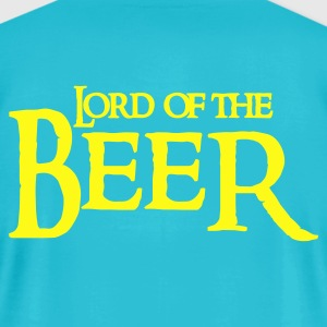 Turquoise lord of the beer T-Shirts - Men's T-Shirt by American Apparel