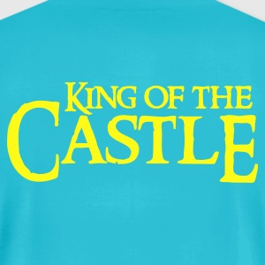 Turquoise king of the castle T-Shirts - Men's T-Shirt by American Apparel
