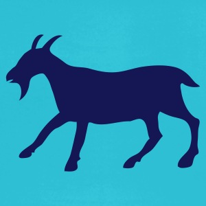 Turquoise the golden goat T-Shirts - Men's T-Shirt by American Apparel
