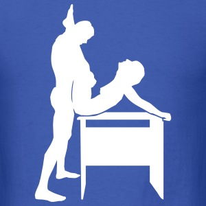 Royal blue sex T-Shirts - Men's T-Shirt