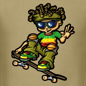 Reggae boy and dreads T-Shirts - Men's T-Shirt
