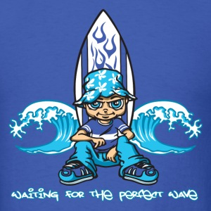 Waitng for the perfect wave T-Shirts - Men's T-Shirt