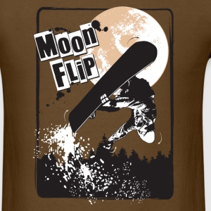 Moon flip T-Shirts - Men's T-Shirt