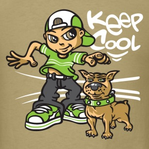 B-boy and dog T-Shirts - Men's T-Shirt