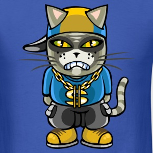 Gangsta cat T-Shirts - Men's T-Shirt