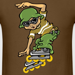 Roller boy and bob T-Shirts - Men's T-Shirt