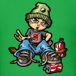 Skate boy on board T-Shirts - Men's T-Shirt