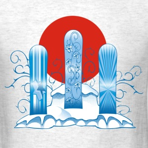 Snowboards and sun T-Shirts - Men's T-Shirt