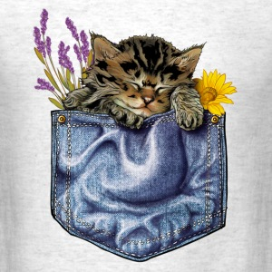 Cat in the pocket T-Shirts - Men's T-Shirt