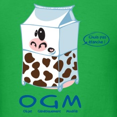 Genetic cow T-shirts