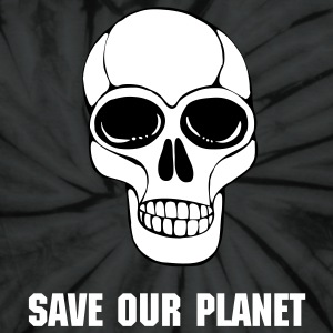 Save Our Planet Tie Dye Tee - Unisex Tie Dye T-Shirt