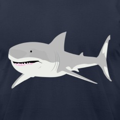 Navy shark T-Shirts
