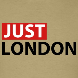 Khaki Just London T-Shirts - Men's T-Shirt