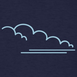Navy dust cloud (1c) T-Shirts - Men's T-Shirt