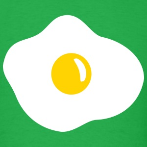 Bright green Fried egg T-Shirts - Men's T-Shirt