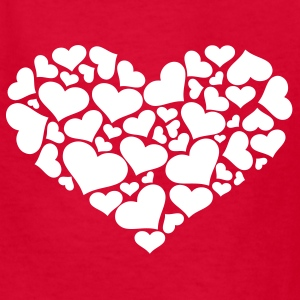 Red Heart Kids' Shirts - Kids' T-Shirt