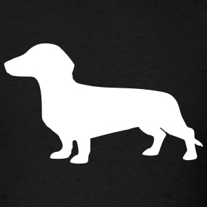 Black Dachshund T-Shirts - Men's T-Shirt