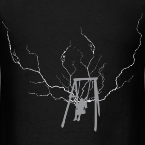 Black swing lightning T-Shirts - Men's T-Shirt