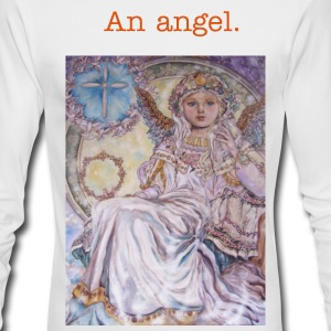 YUMI SUGAI ANGELS. - Men's Long Sleeve T-Shirt by Next Level