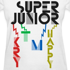 SJ - KRY + T + M + Happy - Women's T-Shirt