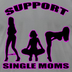 Slate single moms T-Shirts