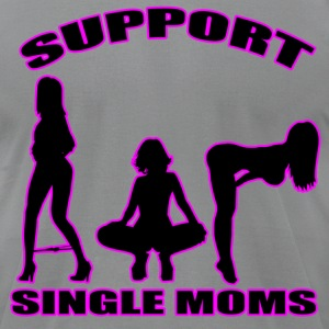 Slate single moms T-Shirts - Men's T-Shirt by American Apparel