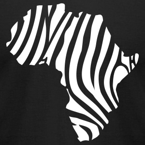 africa_zeb_t_11 T-Shirts - Men's T-Shirt by American Apparel