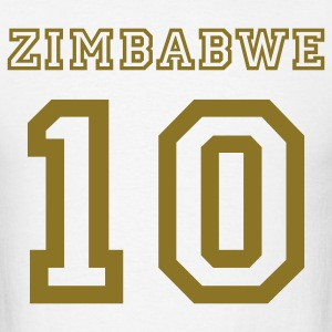 Zimbabwe 10 - Men's T-Shirt