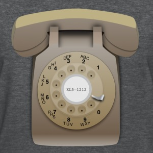 Rotary Phone - Beige - Women's T-Shirt
