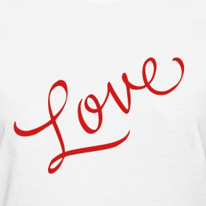 White love Women's T-Shirts - Women's T-Shirt