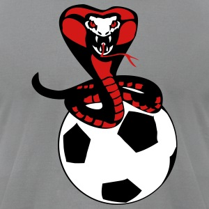 soccer cobra - Men's T-Shirt by American Apparel