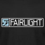 Design ~ Black Classic Fairlight Logo T