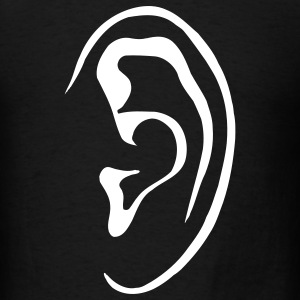 Black ear T-Shirts - Men's T-Shirt