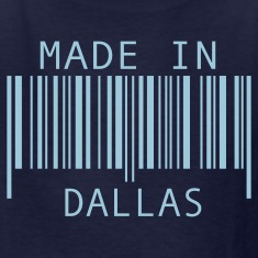 Navy Made in Dallas Kids' Shirts