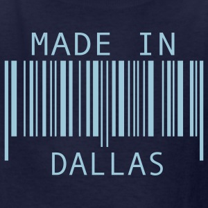 Navy Made in Dallas Kids' Shirts - Kids' T-Shirt