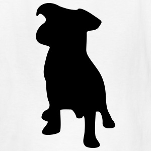 White dog puppy Kids' Shirts - Kids' T-Shirt