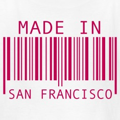 White Made in San Francisco Kids' Shirts