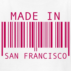White Made in San Francisco Kids' Shirts - Kids' T-Shirt