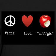Design ~ Peace, Love, Twilight Tee