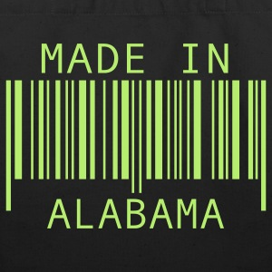 Black Made in Alabama Bags  - Eco-Friendly Cotton Tote