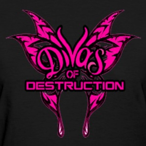 Divas of Destruction Women's Weight T-Shirt - Women's T-Shirt