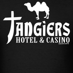 Black Tangiers T-Shirts - Men's T-Shirt