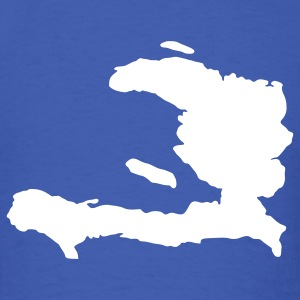 Royal blue Haiti T-Shirts - Men's T-Shirt