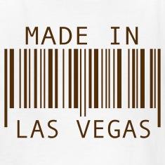 White Made in Las Vegas Kids' Shirts