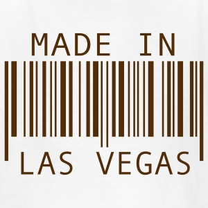 White Made in Las Vegas Kids' Shirts - Kids' T-Shirt