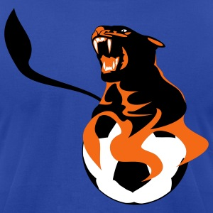 panther soccer - Men's T-Shirt by American Apparel