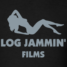 Design ~ LOG JAMMIN' T-Shirt - Metallic Silver Design