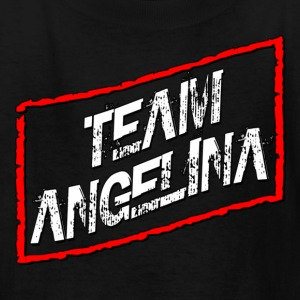 Black Team Angelina Jersey Shore Kids' Shirts - Kids' T-Shirt